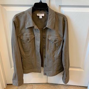 Women's Style and Company Soft Denim Jacket